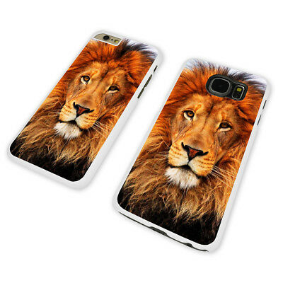 GORGEOUS LION WHITE PHONE CASE COVER fits iPHONE / SAMSUNG (WH)