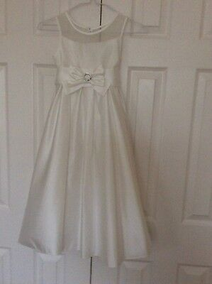 Girls bridesmaid/first communion/party dress age age 7