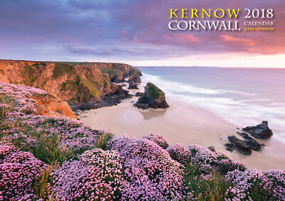 Cornwall Kernow 2018 Calendar with Fab Photography from Cornish Poldark Country!