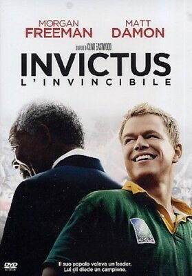 Invictus (Dvd) Con Matt Damon E Morgan Freeman Di Clint Eastwood - Nuovo, Ita.