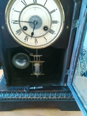 antique jungghans alarm clock