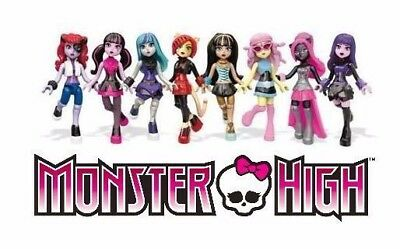 Monster High Mega Bloks Ghouls Skullection Mini Figure Series 2