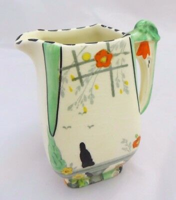 """Vintage BURLEIGH """"RIVIERA"""" 4"""" Jug, Made in England, Imperial Shape"""