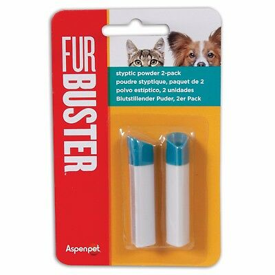 Furbuster Dog/Puppy Styptic powder - 2 pack -Stops Minor Bleeding