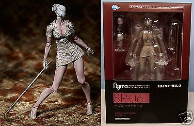 New Figma Bubble Head Nurse FREEing Max Factory Action Figure SILENT HILL 2 F/S