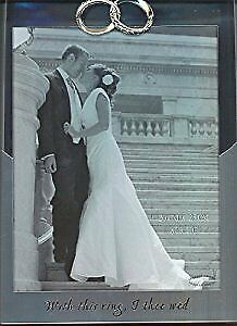WEDDING -PICTURE FRAME.... ''With this ring , I thee wed''