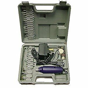 Am-Tech 60Pc Mini Drill and Grinder Set by Am-Tech