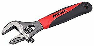 Am-Tech 2-in-1 Adjustable/ Pipe Wrench with Wide Jaw