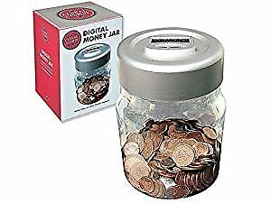 Digital Coin Counting Money Jar all UK Coins with LCD Display