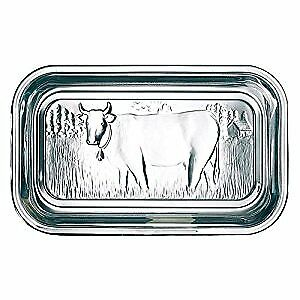 Arcoroc Cow Butter dish with lid 17cm , 1 Piece