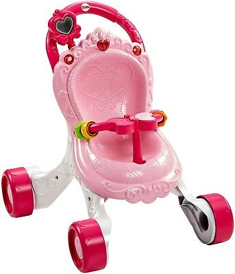 Stroller Fisher Price CGN65 Princess Mommy Stroll Along Musical Walker