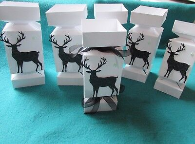 Hand made make up fill your own Christmas crackers gift boxes stocking fillers