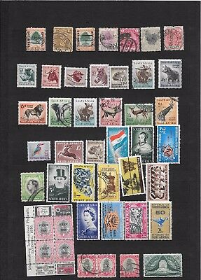 South Africa Good Lot  Stamps