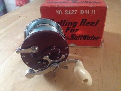 Boxed DMH no. 2427 Trolling Reel For Fresh & Saltwater Fishing