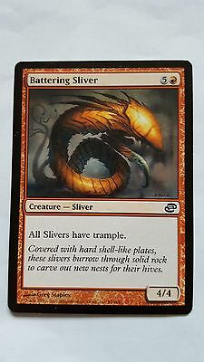 1x BATTERING SLIVER - Rare - Planar Chaos - MTG - NM - Magic the Gathering