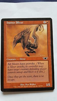 1x HUNTER SLIVER - Rare - Legion - MTG - NM - Magic the Gathering