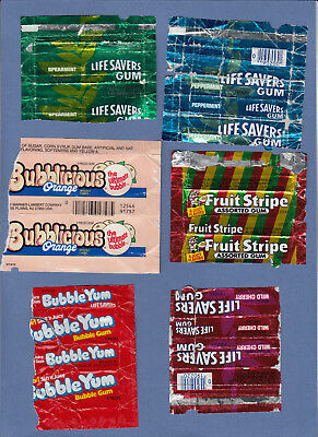 49.	Set of wrappers USA