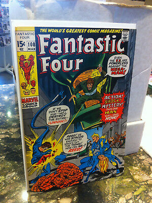 Fantastic Four #108...1971...the Monstrous Mystery Of The Nega-Man