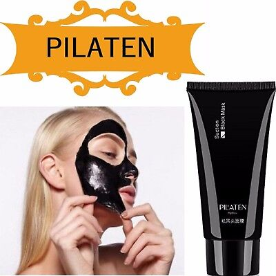 60g Pilaten Charcoal Blackhead Remover Face Mask Sachet Peel Off Facial Cleaning