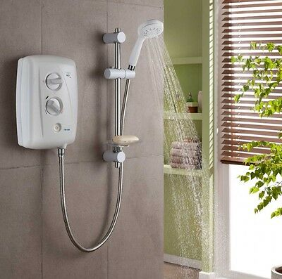 Triton T80Z Fast-Fit Electric Shower White 8.5kw - SP8008ZFF