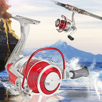 Full Metal Spinning Fishing Reel Left/Right Hand Fishing Tackle IC30 Reel Only