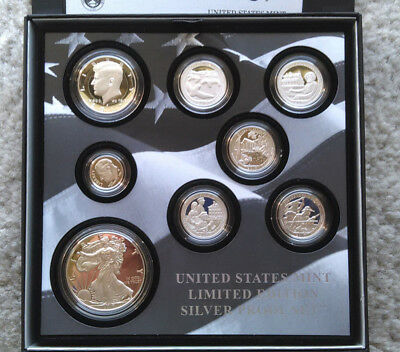 2017 United States Mint Limited Edition Silver Proof Set w/S mint Eagle