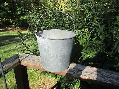 Rare Boston & Maine Railroad Utility Bucket Estate Find
