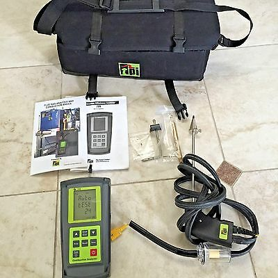 TPI 709 Test Product Combustion Efficiency Analyzer and Differential Manometer