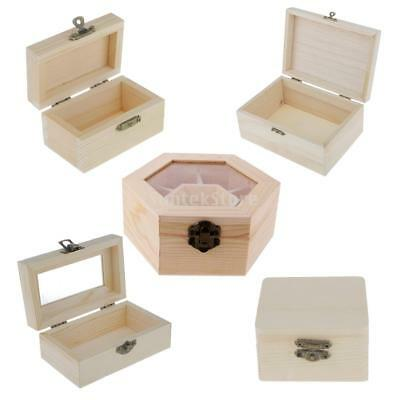 Jewelry Box Wooden Case Organizer With Large Mirror Black 36 95