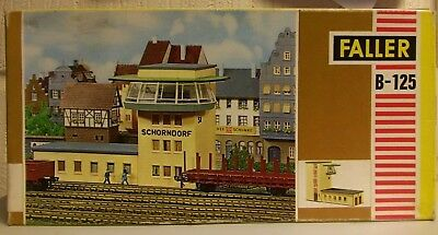 Faller HO Scale Trackside Building with Observatory  Control tower B-125 MIB