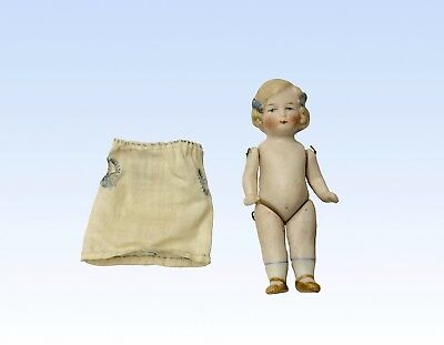 Antique German Miniature Doll, 4 Inches