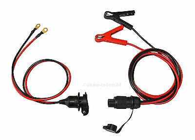 Bike Starter Help Set - Retrofit Outlet + Fully Insulated Starter Cable