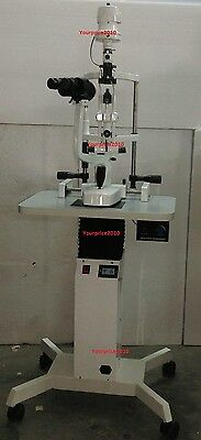 2 Step Optical Slit Lamp Microscope With Motorized Power Table