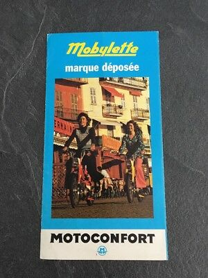 Prospectus Mobylette 1974