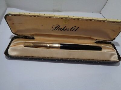 parker 61 fountain pen and original box