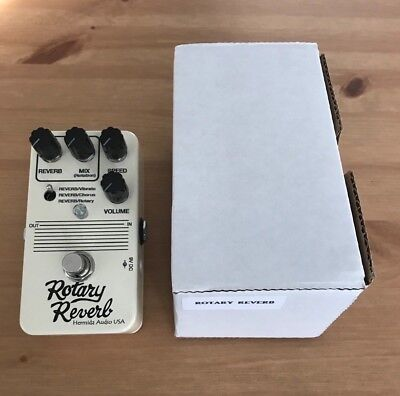 [NEW] RARE Lovepedal Rotary Reverb Guitar Effects Pedal