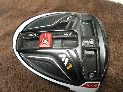 RH TaylorMade M1 10.5* 460cc Driver HEAD ONLY - FREE SHIP - Great Gamer!