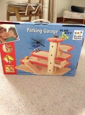 Plan Toys Parking Garage Used Excellent Condition Age 3+ Years