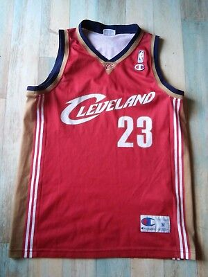 Maillot BASKET BALL CHAMPION USA CLEVELAND NBA N°23 JAMES TAILLE/M/D5 TBE