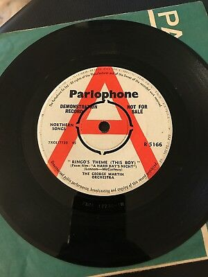 Beatles- Ringo's Theme [ this boy ] / and i love her Parlophone Demo 7""