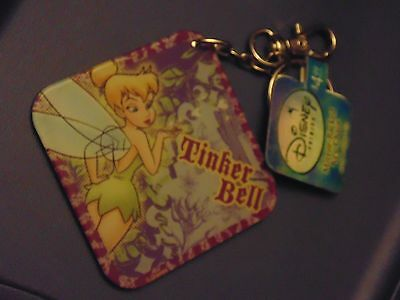 Disney: Tinkerbell Mirror Back Key Chain - NEW WITH TAGS