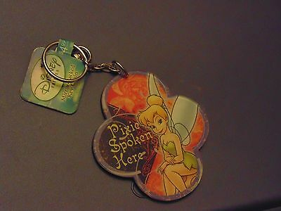 Disney: Tinkerbell Mirror Back Key Chain - NEW WITH TAGS - Pixie Spoken Here