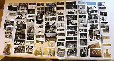 Job Lot x 500 Printed B&W Photograph Postcards 100 Different Pictures JB128