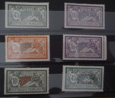 lot timbres france merson neuf. cote 320€