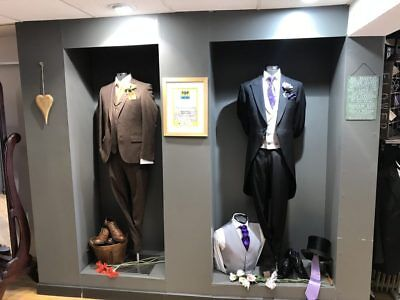Business Opportunity Sale - Over £250,000 Ex Suit Hire Stock - Formal + Wedding