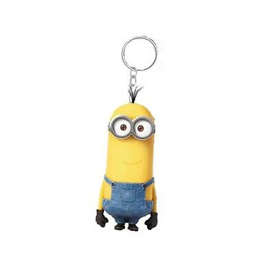 Genuine Despicable Me Minions 'Kevin' Banana Scented 3D Keyring Fob Key Ring