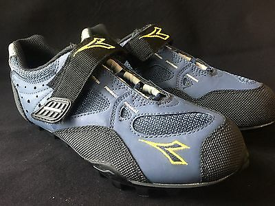 Diadora SPD Mountain Bike Shoes Size 37 Euro Cycling US Womens 6.5