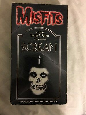 Misfits:Promotional Scream VHS