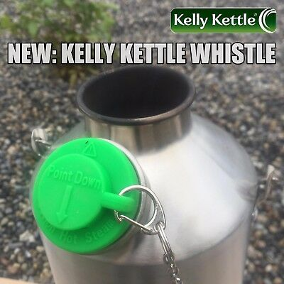 'Scout' Kelly Kettle + FREE Whistle (New item). Limited Offer.  Order Yours now!