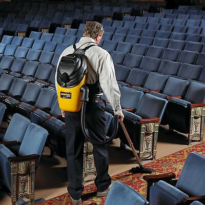 Commercial Backpack Vacuum Cleaner Shop Vac Industrial Mobility Carpet Floor Dry